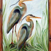 twin Herons