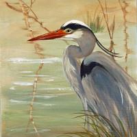 Marsh Egret Print