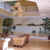 Indian River mural 25′ x 9′