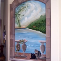 Trompeloeil mural