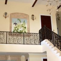 Balcony White Egret installed